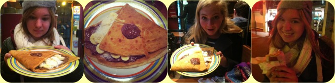 crepes collage