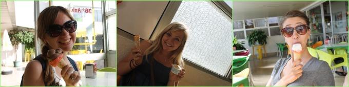 cascais gelato collage