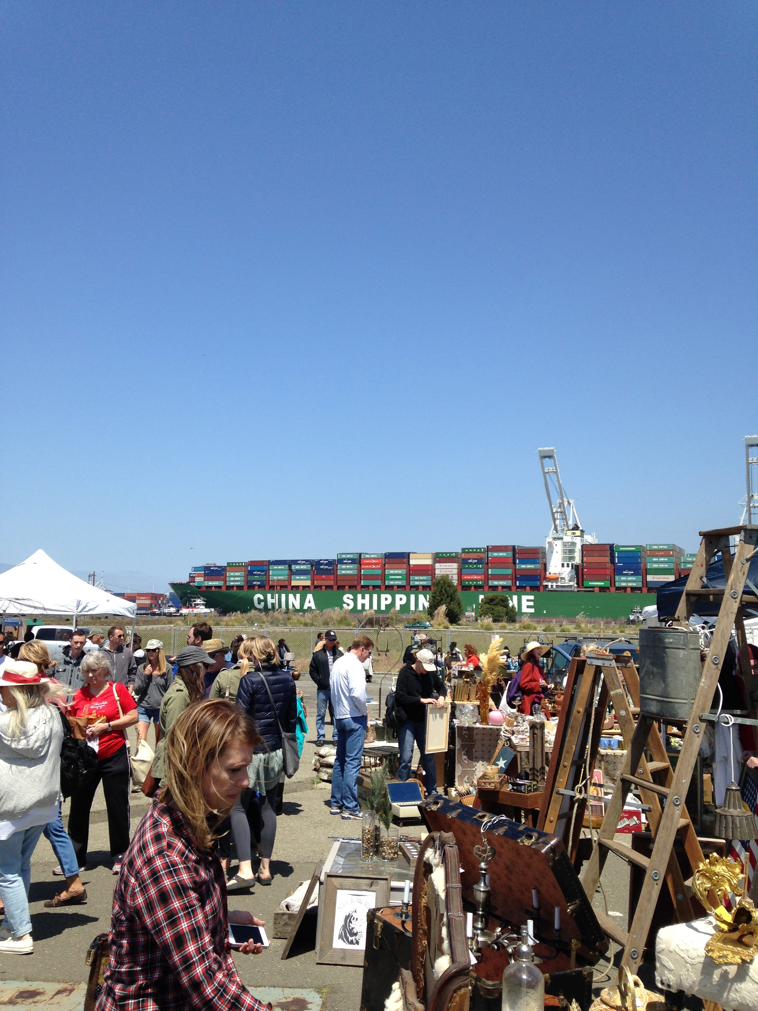 city chronicles alameda point antiques faire world watching. Black Bedroom Furniture Sets. Home Design Ideas